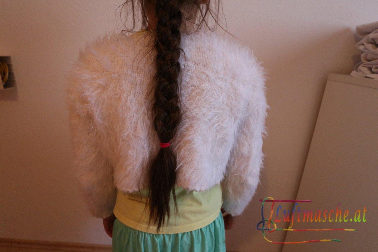 Kuschlige Jacke gestrickt