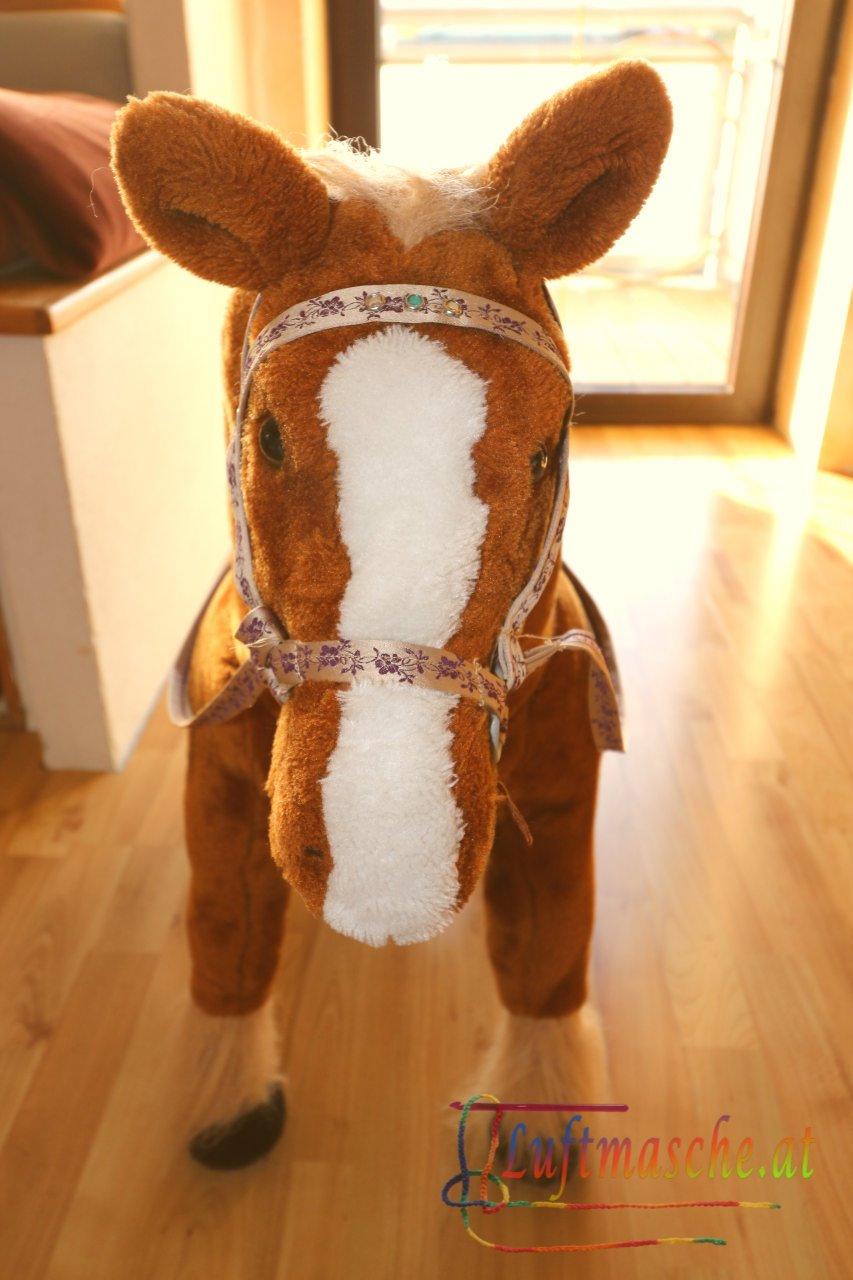 Pferd Zaumzeug nähen